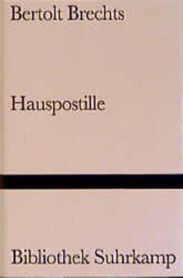 Bertolts Brechts Hauspostille