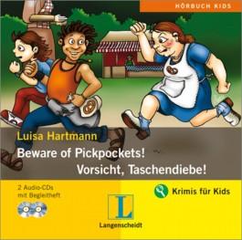 Beware of Pickpockets - Vorsicht, Taschendiebe! - Hörbuch (2 Audio-CDs mit Begleitheft)