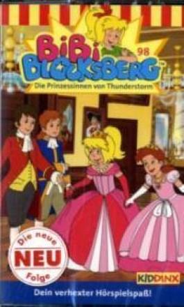 Bibi Blocksberg, Die Prinzessin vom Thunderstorm, 1 Cassette
