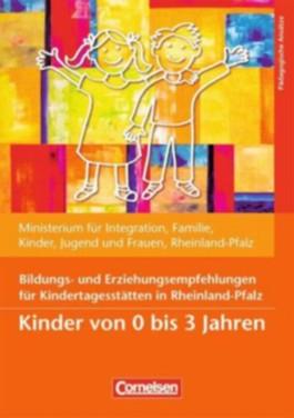 Bildungs- und Erziehungspläne / Bildungs- und Erziehungsempfehlungen für Kindertagesstätten in Rheinland-Pfalz