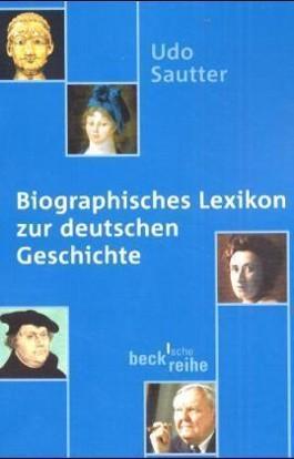 Biographisches Lexikon zur deutschen Geschichte