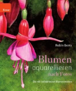 Blumen aquarellieren nach Fotos