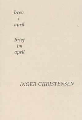 Brev i April /Brief im April