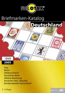 Briefmarkenkatalog Deutschland 1849-2005, 1 CD-ROM