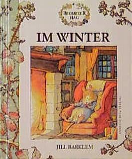 Brombeerhag im Winter