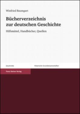 Bucherverzeichnis Zur Deutschen Geschichte /