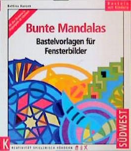 Bunte Mandalas. Bastelvorlagen für Fensterbilder