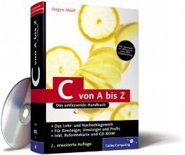C von A bis Z, m. CD-ROM