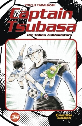 Captain Tsubasa. Die tollen Fußballstars / Captain Tsubasa - Die tollen Fußballstars, Band 34