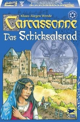 Carcassonne (Spiel), Das Schicksalsrad, m. Roman zum Spiel