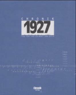Chronik 1927