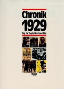 Chronik 1929