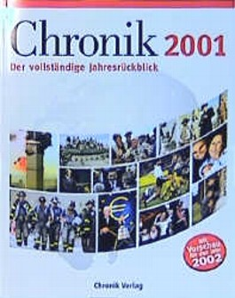 Chronik des 20. Jahrhunderts, Jahresbände, 2001
