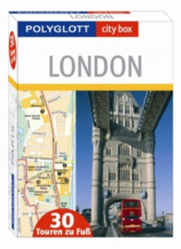 city box London - Box mit 30 Tourenkarten und Beiheft