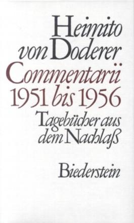 Commentarii 1951 bis 1956