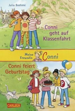 Conni Doppelbände, Band 2: Conni geht auf Klassenfahrt / Conni feiert Geburtstag