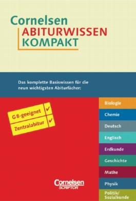 Cornelsen Abiturwissen kompakt, 9 Bde.