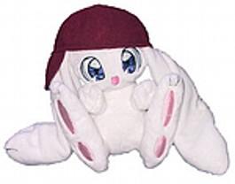 """Daisuki-Maskottchen """"Kisu"""". Höhe: 15 cm"""