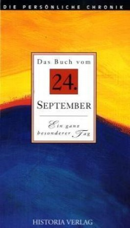 Das Buch vom 24. September