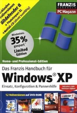 Das Franzis Handbuch für Windows XP, m. DVD-ROM