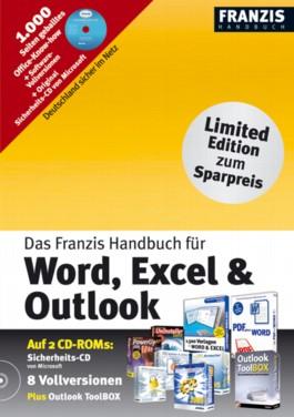 Das Franzis Handbuch für Word, Excel & Outlook, m. 2 CD-ROMs