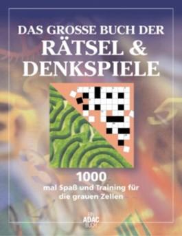 Das große Buch der Rätsel & Denkspiele, m. Filzstift
