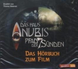 Das Haus Anubis - Pfad der 7 Sünden, 4 Audio-CDs
