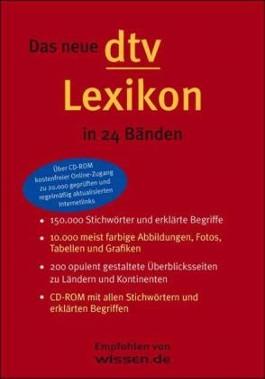 Das neue dtv Lexikon, 24 Bde. m. CD-ROM