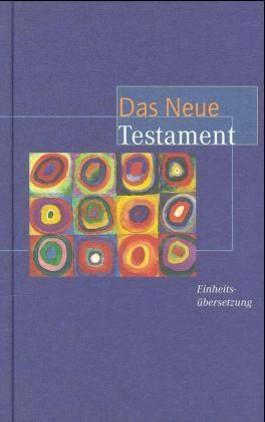 Das Neue Testament, Einheitsübersetzung (Motiv von Wassily Kandinsky)