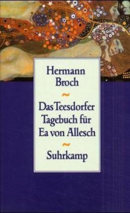 Das Teesdorfer Tagebuch für Ea von Allesch