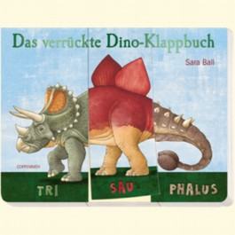 Das verrückte Dino-Klappbuch
