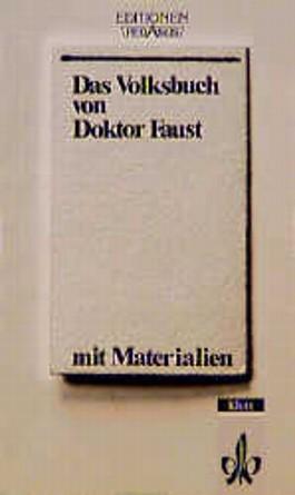 Das Volksbuch von Doktor Faust (1587)