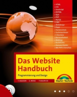Das Website-Handbuch, m. DVD-ROM