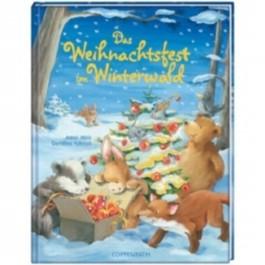 Das Weihnachtsfest im Winterwald