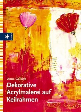 Dekorative Acrylmalerei auf Keilrahmen
