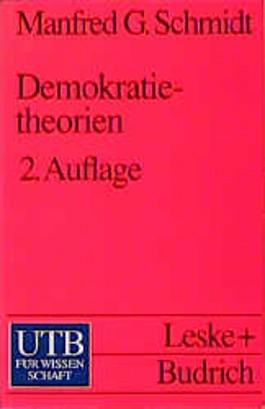Demokratietheorien. Eine Einführung.