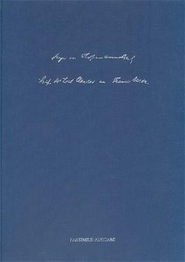 Der Brief des Lord Chandos an Francis Bacon (Faksimile) und einem Fax aus der Zukunft: An Lord Chandos