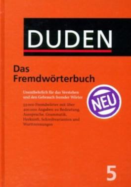 Der Duden, Bd.5 : Duden Das Fremdwörterbuch, m. CD-ROM