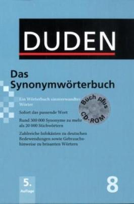 Der Duden in 12 Bänden. Das Standardwerk zur deutschen Sprache / Das Synonymwörterbuch plus CD