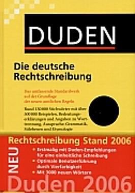 Der Duden in 12 Bänden. Das Standardwerk zur deutschen Sprache / Die deutsche Rechtschreibung