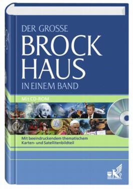 Der Grosse Brockhaus in einem Band. Mit beeindruckendem thematischem Karten- und Satellitenbildteil