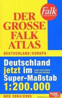 Der Große Falk Atlas 2003/2004