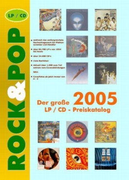 Der grosse Rock & Pop LP Preiskatalog 2005