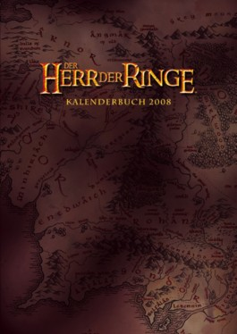 Herr der Ringe Kalenderbuch A5 2008