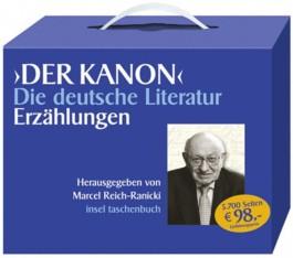 Der Kanon, Die deutsche Literatur, Erzählungen, 10 Bde. u. Begleitband