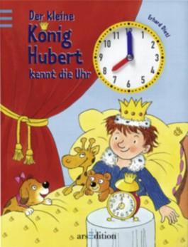 Der kleine König Hubert kennt die Uhr