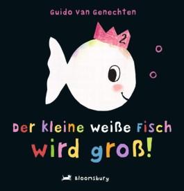 Der kleine weiße Fisch wird groß