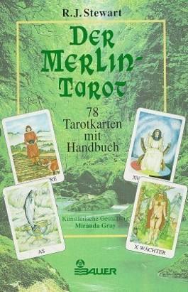 Der Merlin-Tarot, m. Tarotkarten