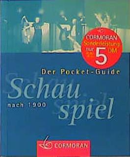 Der Pocket-Guide, Schauspiel, nach 1900