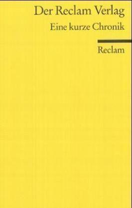 Der Reclam Verlag